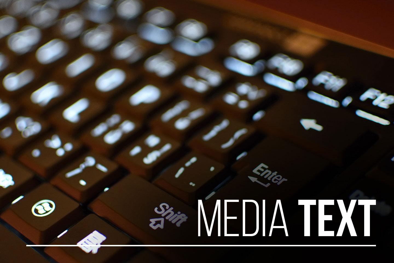 Operator Media Text