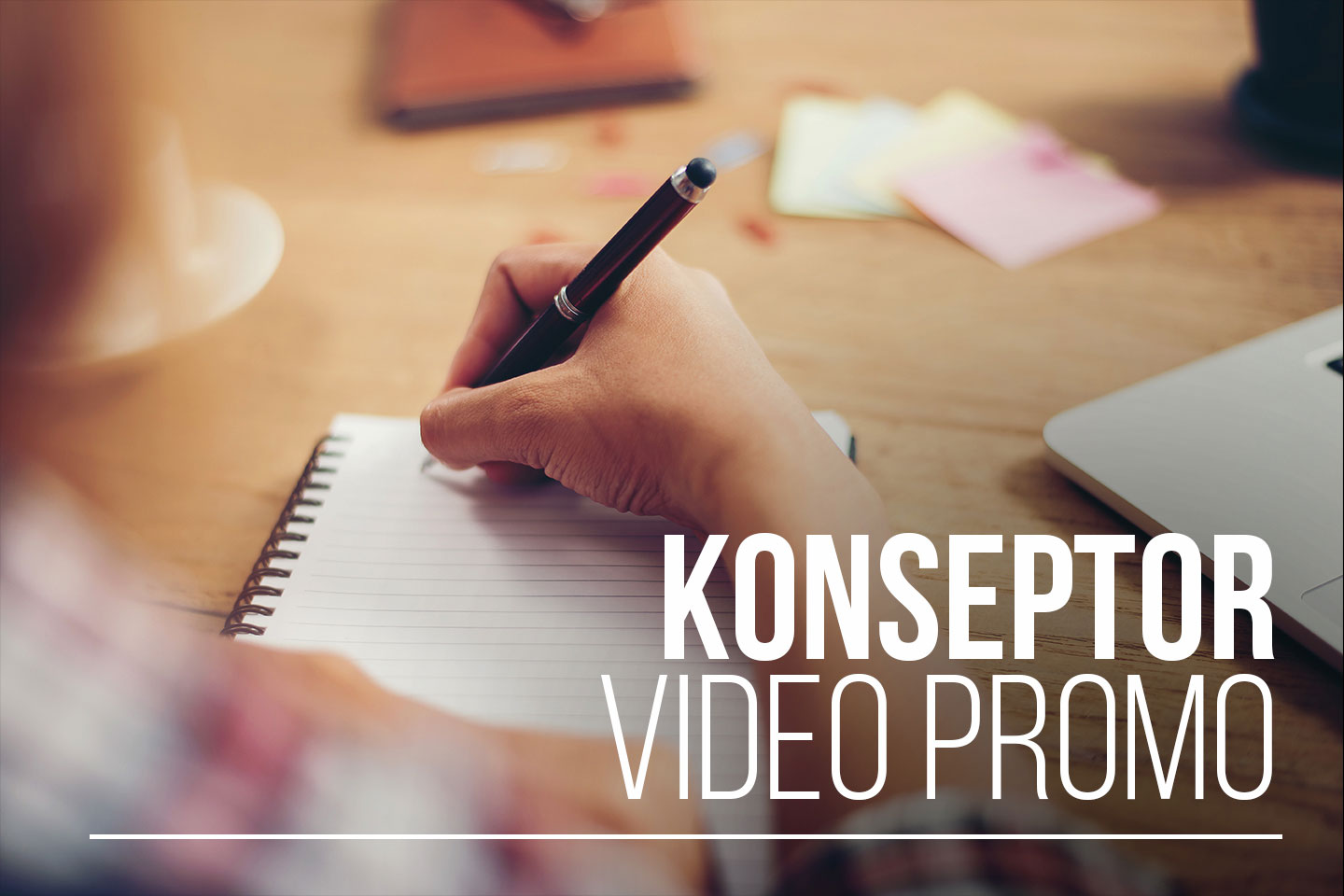 Penulis/ Konseptor Video Promo
