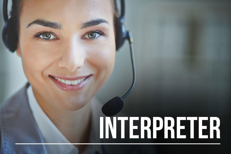 Interpreter (Penerjemah Lisan)